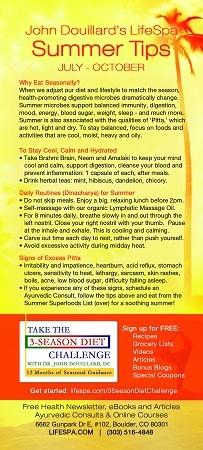 LifeSpa - Summer Grocery List image 2