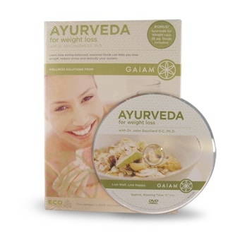 Ayruveda for Weight Loss DVD image