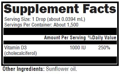 LifeSpa - Liquid Sun Vitamin D3 image 2
