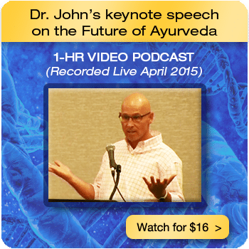 LifeSpa - Dr. John's Keynote Speech on the Future of Ayurveda image 1