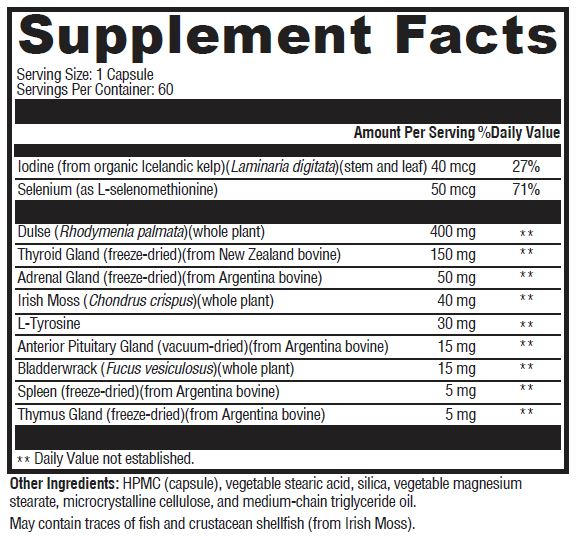 LifeSpa - Thyroid Support image 2