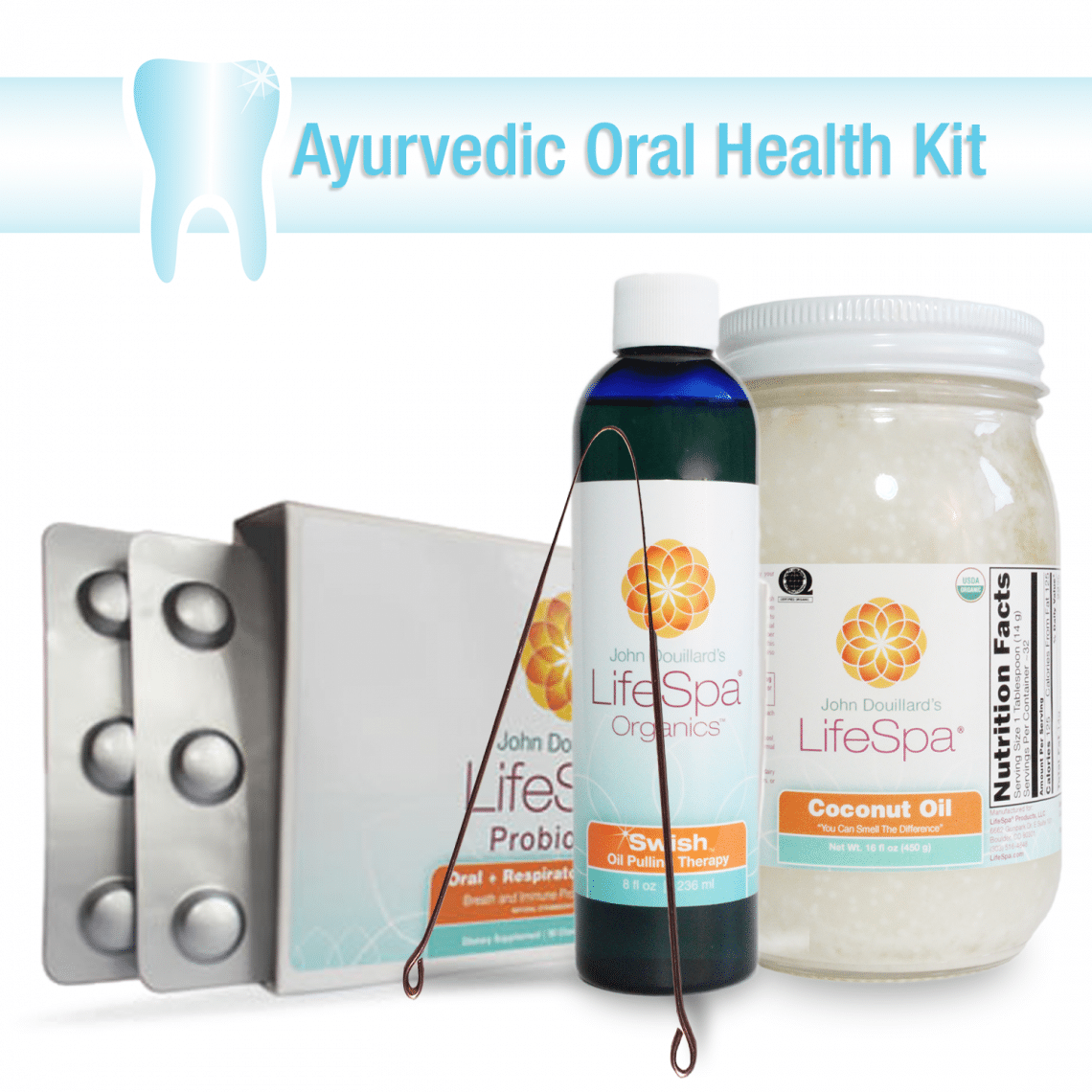 Create-Your-Own: 3-Step Ayurvedic Oral Health Kit