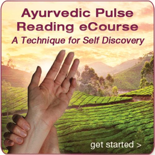 Ayurvedic Pulse Reading eCourse (online)