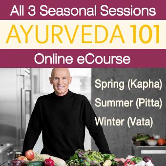 Ayurveda 101 eCourse (All 3 Seasonal Sessions)