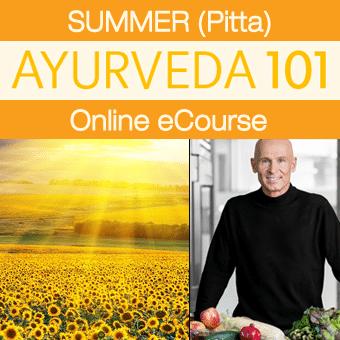 Ayurveda 101 eCourse for Summer (Pitta)