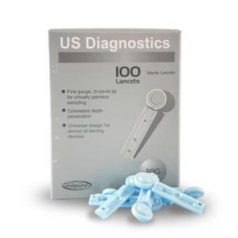 Us Diagnostics Lancet Refill