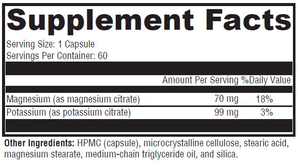 Potassium-Mg Boost