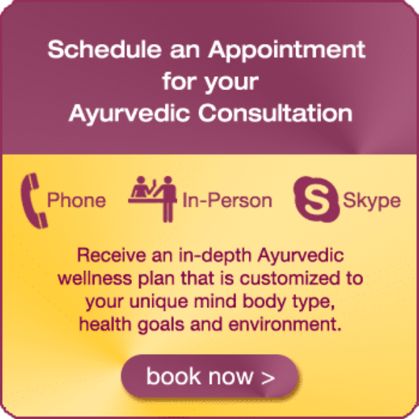 schedule appointment ayurvedic consultation